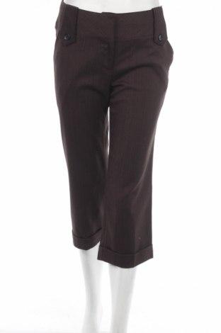 Дамски панталон New Look, Размер M, Цвят Кафяв, 63% полиестер, 33% вискоза, 4% еластан, Цена 10,81лв.