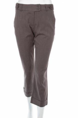 Дамски панталон Yessica, Размер S, Цвят Сив, 64% полиестер, 33% вискоза, 3% еластан, Цена 10,58лв.