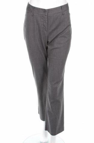 Дамски панталон Yessica, Размер L, Цвят Сив, 65% полиестер, 32% вискоза, 3% еластан, Цена 9,42лв.