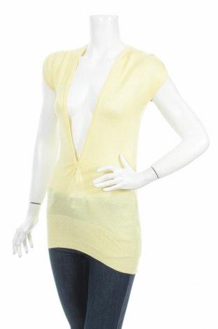 Γυναικείο πουλόβερ Minimum, Μέγεθος XS, Χρώμα Κίτρινο, 50% μοντάλ, 50% βισκόζη, Τιμή 22,60€