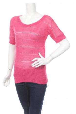 Дамски пуловер Tally Weijl, Размер XS, Цвят Розов, Акрил, Цена 7,22лв.