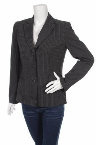 Дамско сако Loft By Ann Taylor, Размер S, Цвят Сив, 48% вълна, 4% полиестер, 4% еластан, Цена 5,30лв.