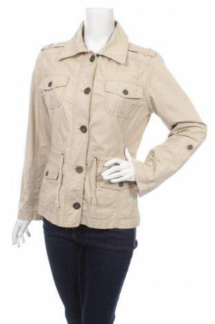Дамско яке Gina, Размер L, Цвят Бежов, 100% памук, Цена 15,20лв.