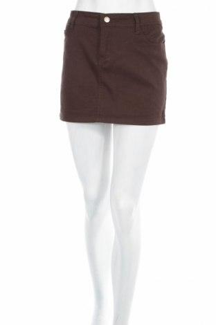 Φούστα Chicoree, Μέγεθος M, Χρώμα Καφέ, 98% βαμβάκι, 2% ελαστάνη, Τιμή 4,79€