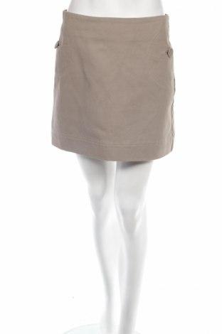 Пола H&M, Размер S, Цвят Бежов, Памук, Цена 9,40лв.