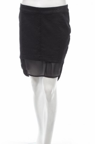 Пола H&M Divided, Размер M, Цвят Черен, 61% памук, 35% полиестер, 4% еластан, Цена 8,20лв.