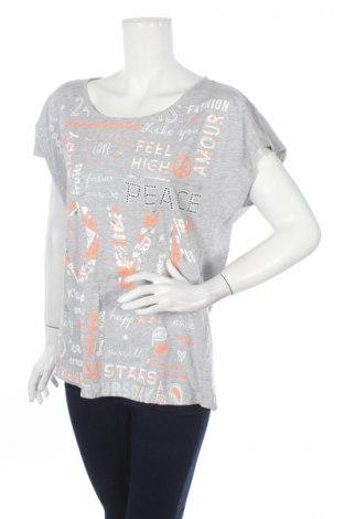 Дамска блуза Marks & Spencer, Размер L, Цвят Сив, 95% памук, 5% вискоза, Цена 9,00лв.