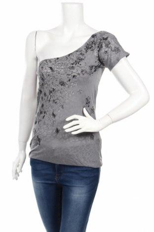 Γυναικεία μπλούζα Rainbow, Μέγεθος XXS, Χρώμα Γκρί, 65% πολυεστέρας, 35% βαμβάκι, Τιμή 3,79€