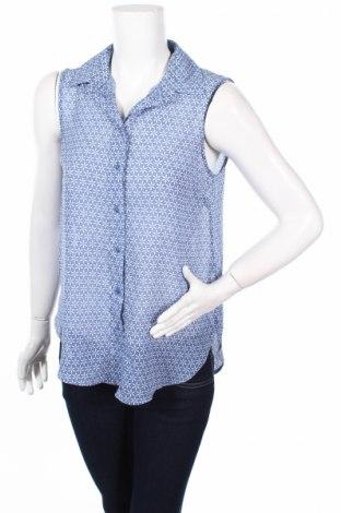 Γυναικείο πουκάμισο H&M, Μέγεθος XS, Χρώμα Μπλέ, Πολυεστέρας, Τιμή 3,40€