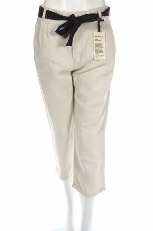 Γυναικείο παντελόνι Drykorn for beautiful people, Μέγεθος XL, Χρώμα  Μπέζ, 72% lyocell, 28% λινό, Τιμή 8,71€