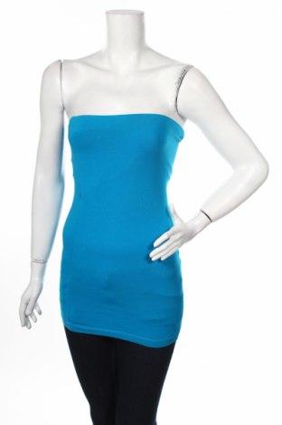 Dámske tielko  Ann Christine, Veľkosť M, Farba Modrá, 92% bavlna, 8% elastan, Cena  2,21€
