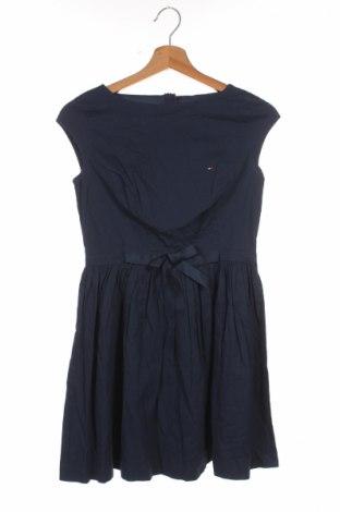 Dziecięca sukienka Tommy Hilfiger, Rozmiar 12-13y/ 158-164 cm, Kolor Niebieski, Bawełna, Cena 168,46zł