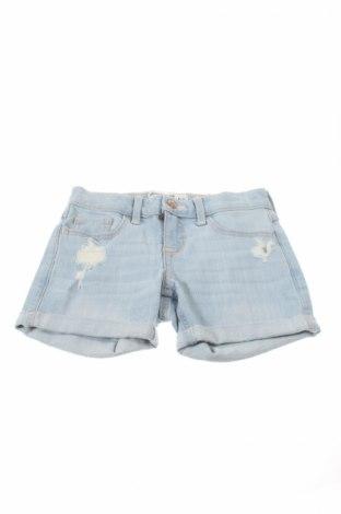 Детски къс панталон Abercrombie Kids, Размер 5-6y/ 116-122 см, Цвят Син, 98% памук, 2% еластан, Цена 31,60лв.