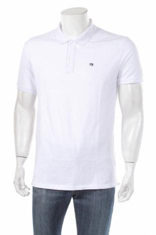 Мъжка тениска Scotch & Soda, Размер L, Цвят Бял, Памук, Цена 57,00лв.