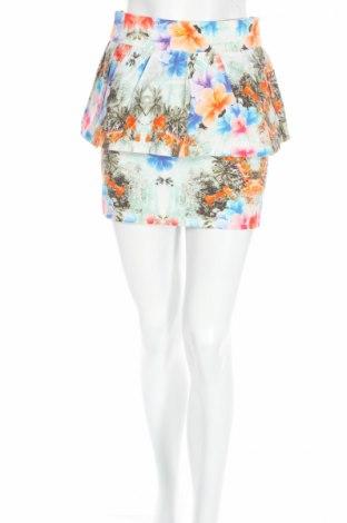Φούστα Zara, Μέγεθος XS, Χρώμα Πολύχρωμο, 97% βαμβάκι, 3% ελαστάνη, Τιμή 6,43€