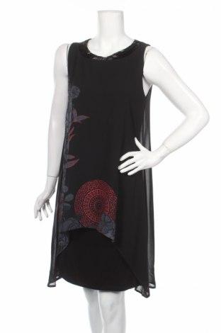 Šaty  Desigual, Rozměr L, Barva Černá, Polyester, Cena  1116,00Kč