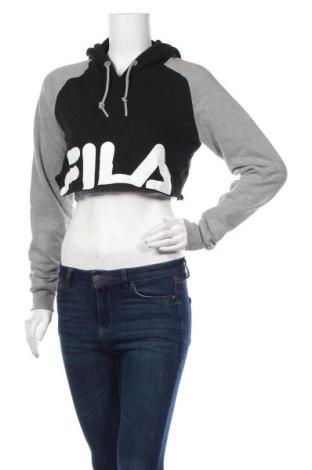 Дамска блуза Fila, Размер XS, Цвят Черен, 80% памук, 20% полиестер, Цена 24,99лв.