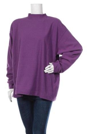 Дамска поларена блуза, Размер XL, Цвят Лилав, Цена 13,23лв.