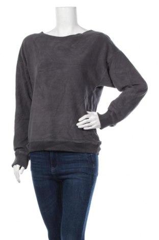 Дамска поларена блуза, Размер L, Цвят Сив, Полиестер, Цена 15,12лв.