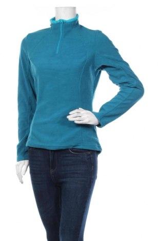 Дамска поларена блуза Decathlon, Размер M, Цвят Син, Полиестер, Цена 10,40лв.
