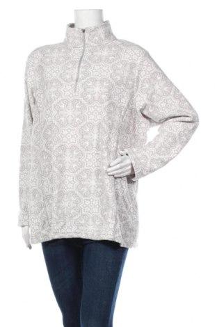 Дамска поларена блуза Land's End, Размер XL, Цвят Сив, Полиестер, Цена 16,07лв.