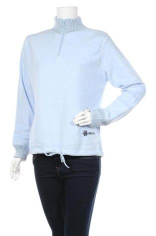 Дамска поларена блуза X-Mail, Размер L, Цвят Син, 100% полиакрил, Цена 17,33лв.