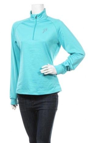 Дамска спортна блуза Bjorn Daehlie, Размер M, Цвят Син, 91% полиестер, 9% еластан, Цена 9,45лв.