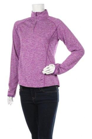 Дамска спортна блуза Crane, Размер M, Цвят Лилав, Полиестер, еластан, Цена 12,60лв.