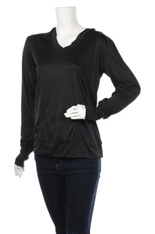 Дамска спортна блуза Crane, Размер L, Цвят Черен, Полиестер, еластан, Цена 10,71лв.