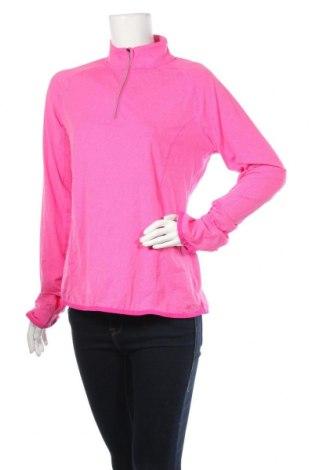 Дамска спортна блуза Crane, Размер L, Цвят Розов, Полиестер, еластан, Цена 15,12лв.