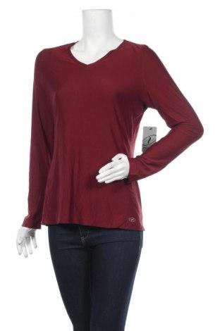 Дамска спортна блуза N.Y.L., Размер L, Цвят Червен, 94% полиестер, 6% еластан, Цена 25,88лв.