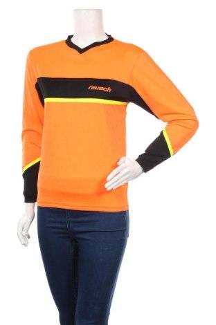 Дамска спортна блуза Reusch, Размер M, Цвят Оранжев, Полиестер, Цена 11,76лв.