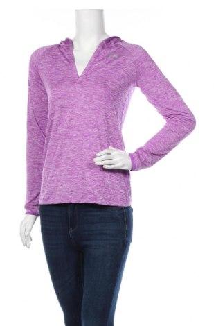Дамска спортна блуза Under Armour, Размер XS, Цвят Лилав, Полиестер, Цена 16,80лв.