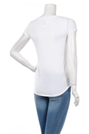 Дамска тениска Q/S by S.Oliver, Размер XS, Цвят Бял, 88% полиестер, 12% лен, Цена 16,24лв.