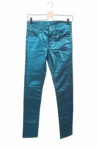 Дамски дънки Cheap Monday, Размер S, Цвят Син, 81% памук, 17% полиестер, 2% еластан, Цена 11,31лв.