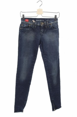Дамски дънки Miss Sixty, Размер XS, Цвят Син, 99% памук, 1% еластан, Цена 24,96лв.