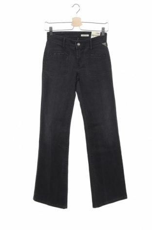 Дамски дънки Replay, Размер XS, Цвят Черен, 98% памук, 2% еластан, Цена 22,88лв.