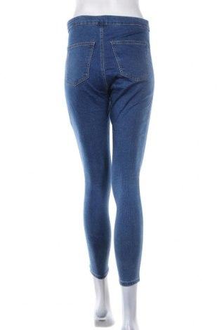Дамски дънки Topshop, Размер L, Цвят Син, 72% памук, 23% полиестер, 5% еластан, Цена 42,90лв.
