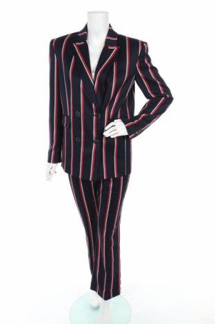 Дамски костюм Mango, Размер M, Цвят Син, 64% полиестер, 34% вискоза, 2% еластан, Цена 40,95лв.