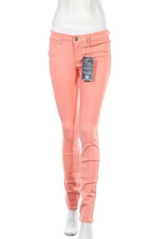 Дамски панталон Arizona, Размер XS, Цвят Оранжев, 97% памук, 3% еластан, Цена 29,64лв.