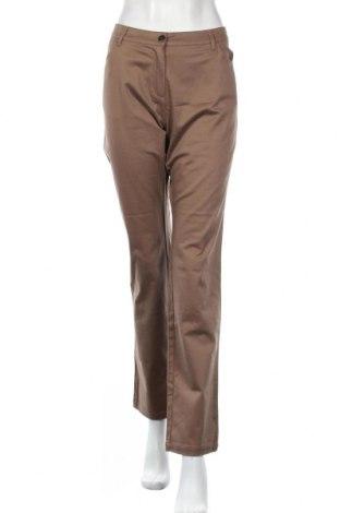 Дамски панталон Cyrillus, Размер L, Цвят Кафяв, 97% памук, 3% еластан, Цена 16,24лв.