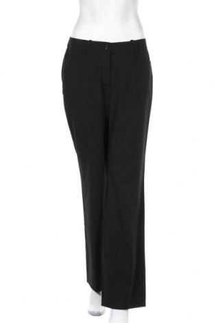 Дамски панталон Madeleine, Размер M, Цвят Черен, 66% полиестер, 28% вискоза, 6% еластан, Цена 10,92лв.