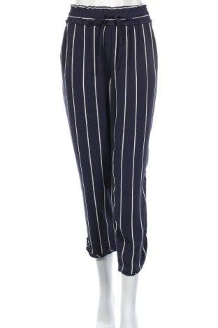 Дамски панталон Zara Trafaluc, Размер L, Цвят Син, 97% полиестер, 3% еластан, Цена 19,06лв.