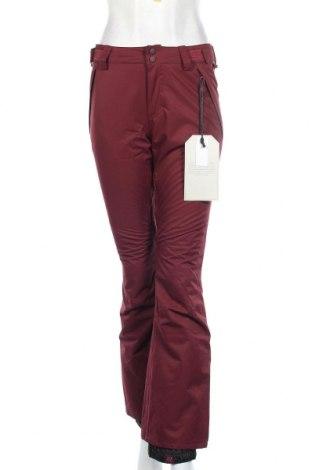 Дамски панталон за зимни спортове Billabong, Размер XS, Цвят Червен, 100% полиестер, Цена 113,40лв.