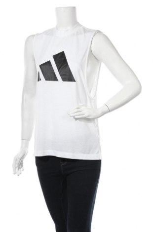 Дамски потник Adidas, Размер XS, Цвят Бял, 50% полиестер, 25% памук, 25% вискоза, Цена 21,84лв.