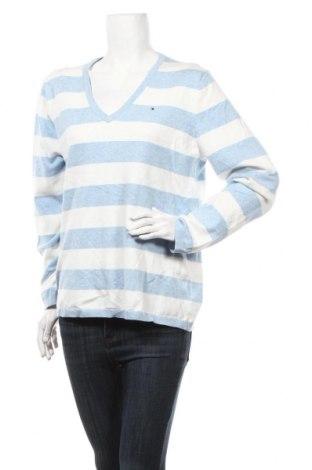 Дамски пуловер Tommy Hilfiger, Размер XL, Цвят Бял, 65% памук, 35% полиамид, Цена 50,40лв.