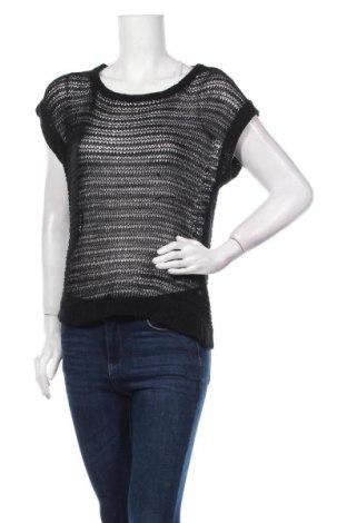 Дамски пуловер Valley Girl, Размер M, Цвят Черен, Акрил, Цена 7,16лв.