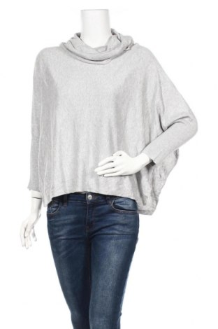 Дамски пуловер Now, Размер L, Цвят Сив, Памук, вискоза, Цена 23,10лв.