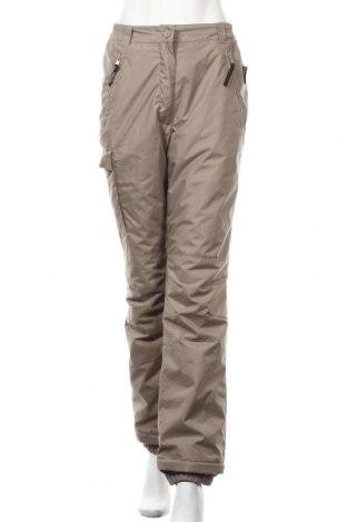 Дамски спортен панталон Crane, Размер S, Цвят Бежов, Полиестер, Цена 7,09лв.