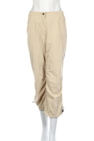 Дамски спортен панталон Jack Wolfskin, Размер L, Цвят Бежов, 100% полиамид, Цена 9,45лв.